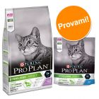 Set misto Pro Plan Sterilised 3 kg secco + 6 x 85 g umido