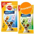 Set prova misto! 7 Pedigree Dentastix + 7 Pedigree Dentastix Fresh