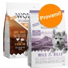 Set prova misto! Little Wolf of Wilderness Junior 2 x 1 kg