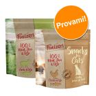 Set Prova misto! Purizon Snack gatto - senza cereali 2 x 40 g