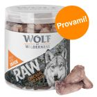 Set Wolf of Wilderness: Orecchie di coniglio con pelo + Cuori di Pollo RAW