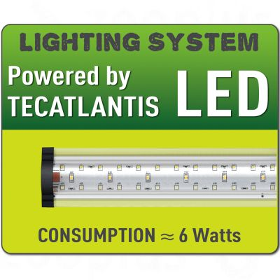 Set Aquatlantis 60x30x30 LED