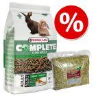 Set Cuni Adult Complete Versele-Laga + Fieno di prato naturale Hansepet