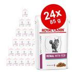 Set economic: 24 x 100 g / 85 g / 195 g Royal Canin Veterinary Hrană umedă