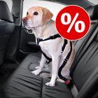 Set Imbragatura da auto per cani + Coprisedile Trixie