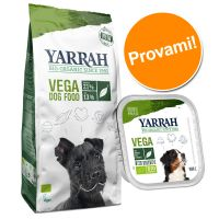Set misto Yarrah Bio alimento biologico Vegetariano secco + umido