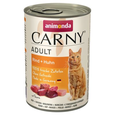 Set prova! Animonda Carny Adult 12 x 400 g