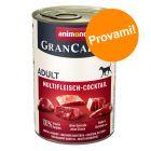Set Prova! Animonda GranCarno Original Adult 6 x 400 g