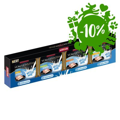 Set prova! Animonda Vom Feinsten Adult Milkies 4 x 100 g