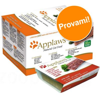 Set prova! Applaws Cat Patè 7 x 100 g