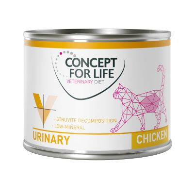 Set prova misto! Concept for Life Veterinary Diet Urinary Pollo & Manzo