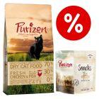 Set prova misto! 400 g secco Purizon Adult + 40 g snack Purizon