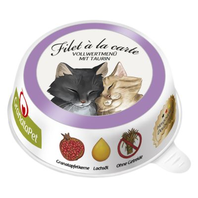 Set prova misto! GranataPet Filet à la carte 6 x 85 g