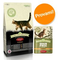 Set prova misto! James Wellbeloved Cat secco + umido