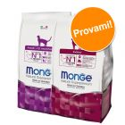 Set prova misto! Monge Natural Superpremium Cat 2 x 1,5 kg