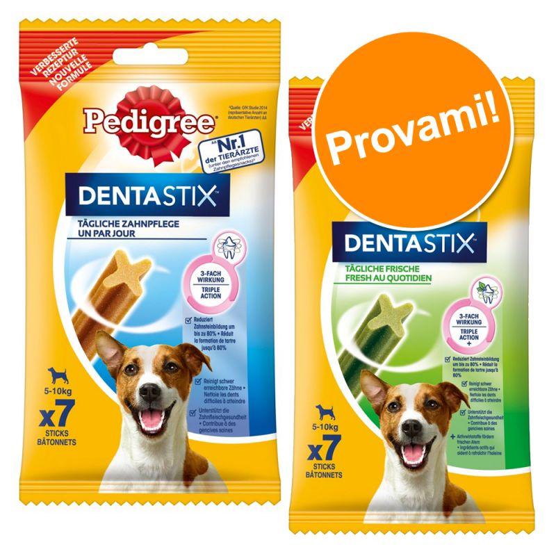 Set prova misto! 7 Pedigree Dentastix + 7 Pedigree Dentastix Fresh