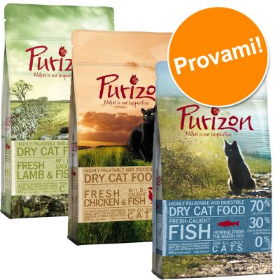 Set prova misto Purizon Adult gatto