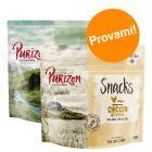 Set prova misto! Purizon Snack per cani - senza cereali 2 x 100 g