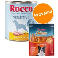 Set prova misto! Rocco Sensitive + 250 g Rocco Chings