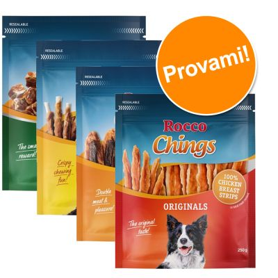 Set prova misto! Rocco Snacks (720 g)
