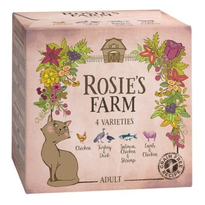 Set prova misto! Rosie's Farm Adult 4 x 100 g