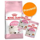 Set prova misto! Royal Canin Kitten 4 kg secco + 24 x 85 g umido misto