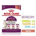 Set prova misto! Royal Canin Sensory in Salsa Alimento umido per gatti