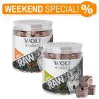 Set prova misto! Snack Premium liofilizzati Wolf of Wilderness - RAW