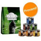 Set prova misto! Wild Freedom 400 g secco + 6 x 200 g umido