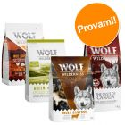 Set prova misto! Wolf of Wilderness Adult Crocchette per cani