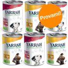 Set prova misto! 6 x 400 g umido Yarrah Bio