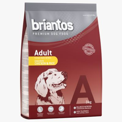 Set prova misto! 2 x 3 kg Briantos Adult