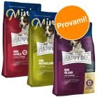 "Set prova misto! 3 x 4 kg Happy Dog Supreme Mini ""Giro del mondo"""
