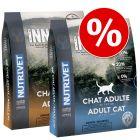 Set prova misto! 2 x 1,5 kg Nutrivet Inne Cat Adult
