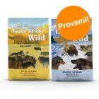 Set prova misto! 2 x 5,6 kg Taste of the Wild