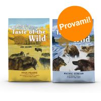 Set prova misto! 2 x 5,6 kg Taste of the Wild