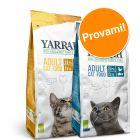 Set prova misto! 2 x 2,4 kg Yarrah Bio crocchette bio per gatti