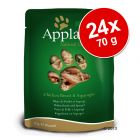 Set Risparmio! Applaws Buste in Brodo 24 x 70 g