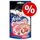 Set risparmio! Felix Crispies 9 x 45 g