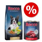 Set Risparmio! 10 kg Rocco Mix di fiocchi + 6 x 400 / 800 g Rocco Classic