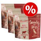 Set Risparmio! Purizon Snack cane - senza cereali 3 x 100 g