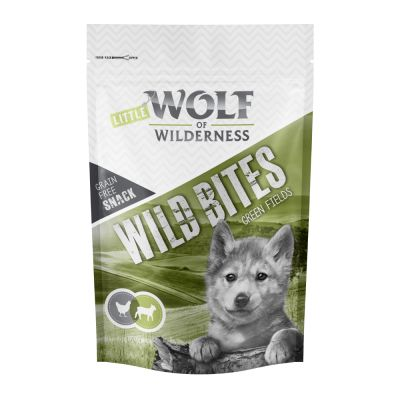 Set risparmio! Wolf of Wilderness Snack - Wild Bites 3 x 180 g