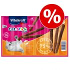 Set risparmio! 48 x 6 g Vitakraft Cat Stick Mini