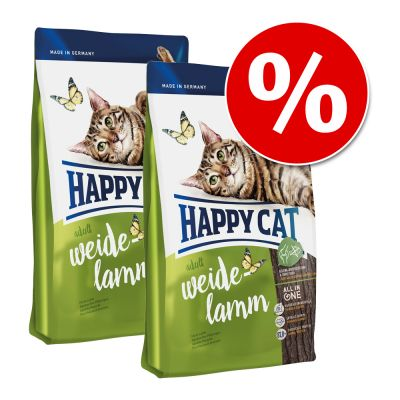 Set risparmio! 2 x Happy Cat