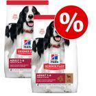 Set risparmio! 2 x Hill's Science Plan Crocchette per cani