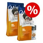 Set Risparmio! 2 x 4 kg Happy Dog Supreme Mini