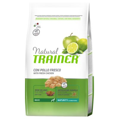 Set risparmio! 2 x 12 kg Natural Trainer Medium & Maxi