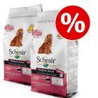 Set risparmio! 2 x 12 kg Schesir Dog Dry Medium/Large