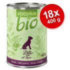 Set Risparmio! zooplus Bio 18 x 400 g
