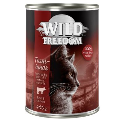 Set Scorta: Wild Freedom Adult lattine 12 x 400 g